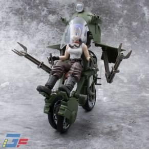 FIGURE RISE MECHANICS BULMA'S VARIABLE N°19 MOTORCYCLE TRIKE MODE BANDAI GALLERY TOYSANDGEEK @Gundamfascination