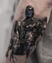 tag, inal bersekov, tattoo, realist, movie, geek