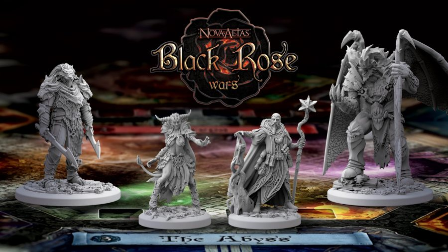 black rose wars