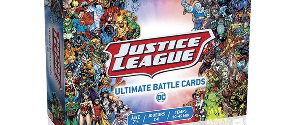 justice league ultimate battle cards