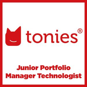 Tonies Junior Portfolio Manager