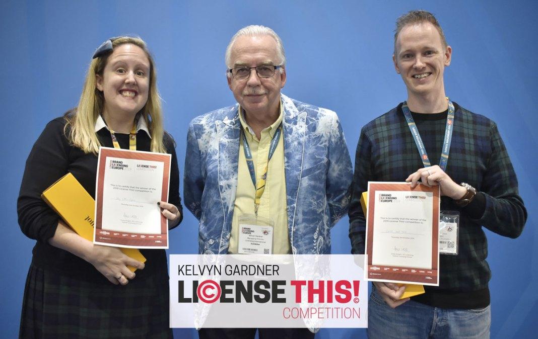 Brand Licensing Europe-Honours Kelyvn Gardner