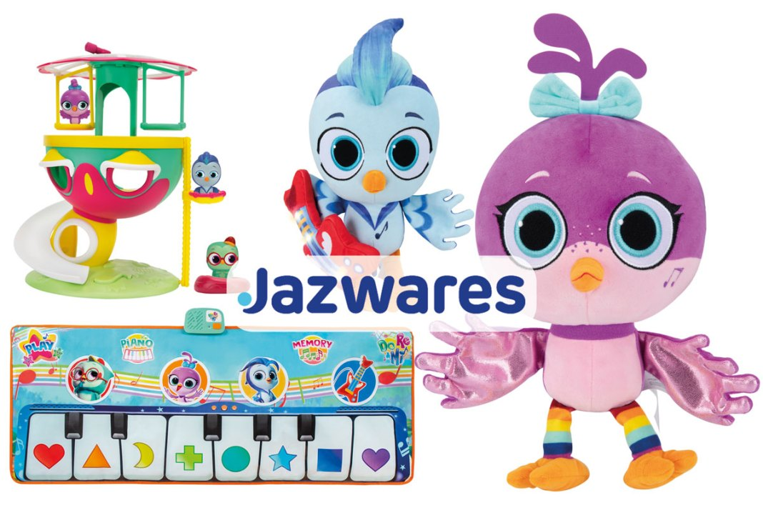 Jazwares launches Do, Re & Mi toy line