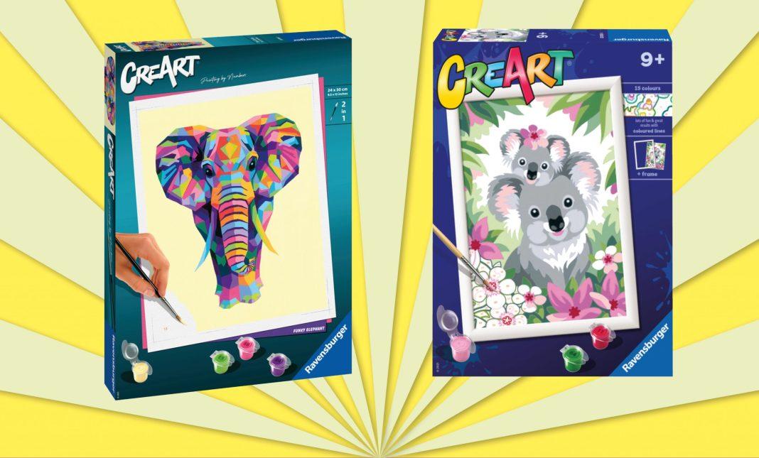 Ravensburger adds new designs to CreArt range