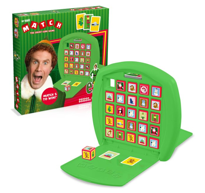 Winning Moves launches Elf Top Trumps Match Board Game