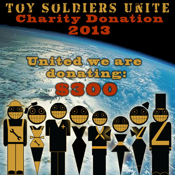 Charity Donation Graphic 2013