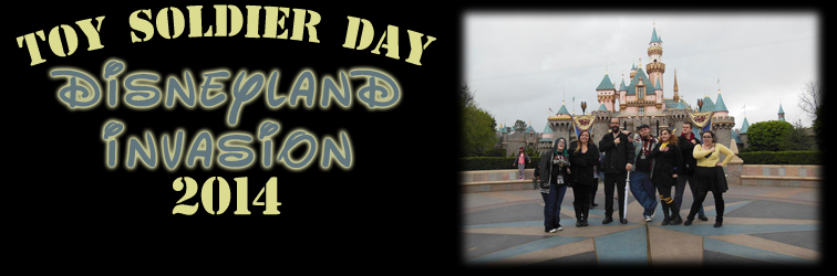 Disneyland Invasion 2014 Banner