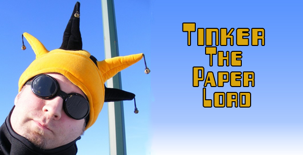 Tinker The Paper Lord TSOTW Banner