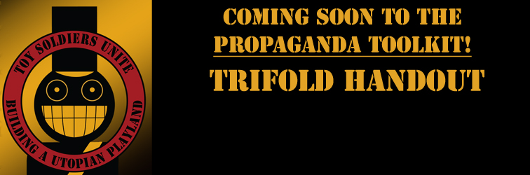 Propaganda Toolkit Trifold banner