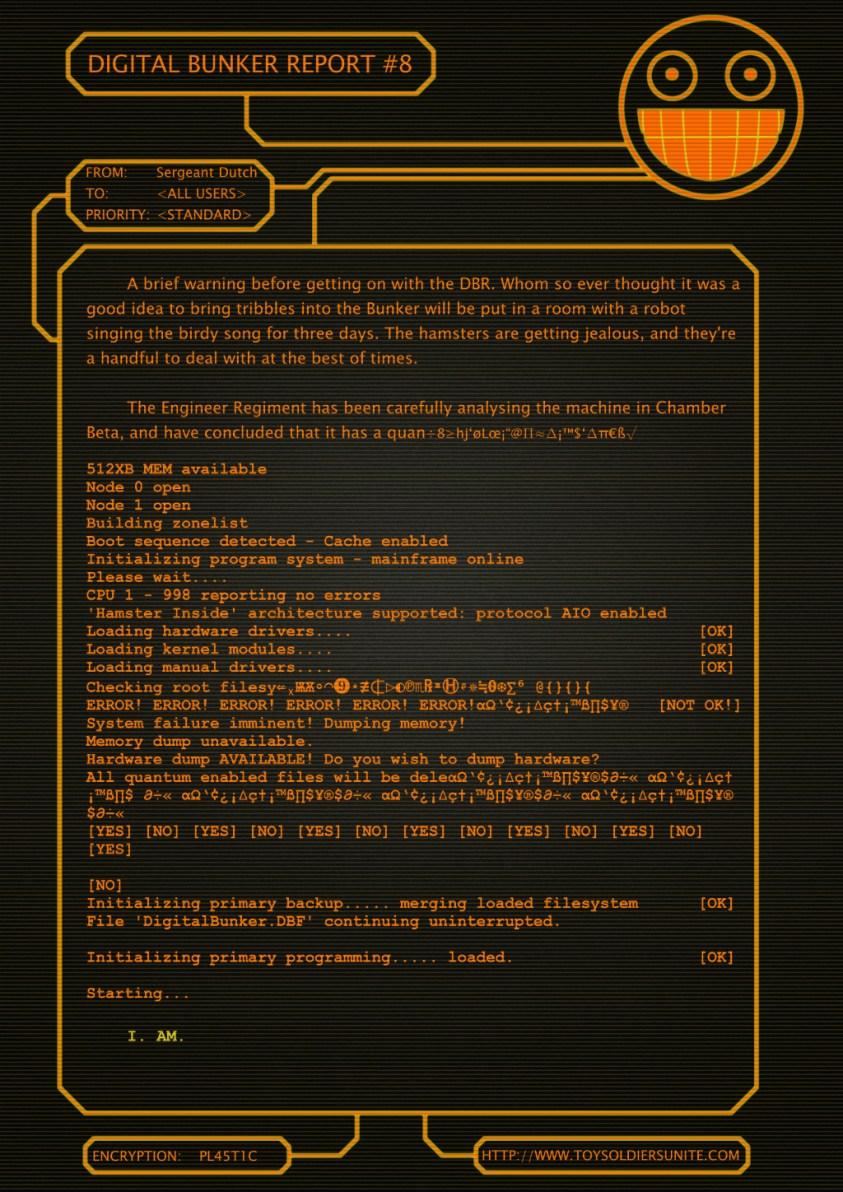 Digital Bunker Report 8