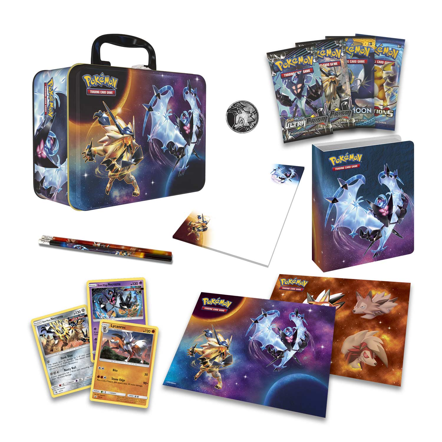 Pokemon 2018 Spring Collector Chest Tin Dawn Wings