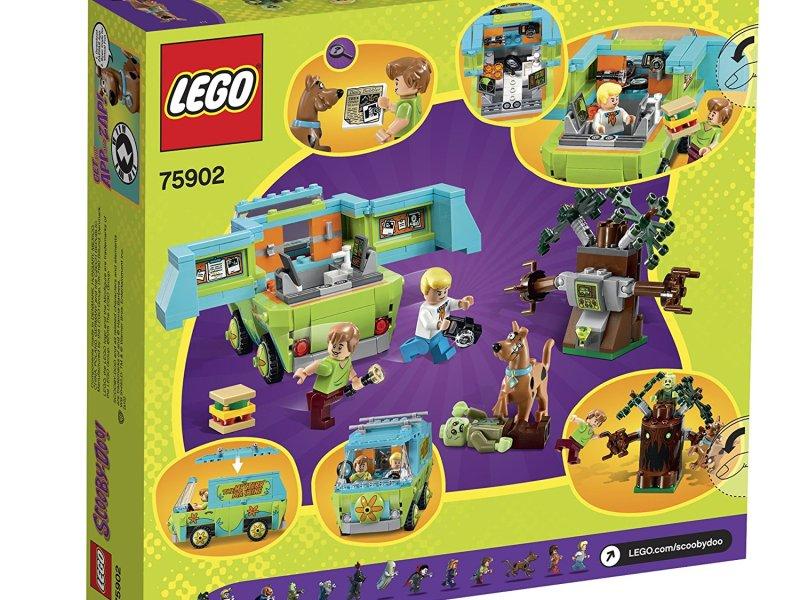 Scooby doo Lego La máquina del misterio