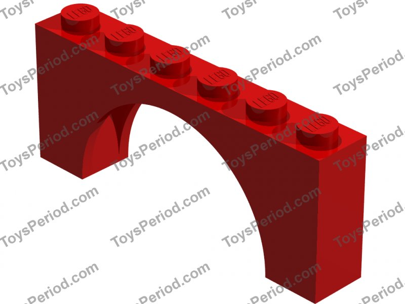 LEGO Sets with Part 3307 Arch Brick 1 x 6 x 2 Picture of LEGO Part 3307 Arch Brick 1 x 6 x 2