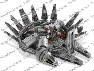 Lego 7965 Millennium Falcon Set Parts Inventory And