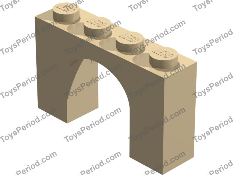 LEGO Sets with Part 6182 Arch Brick 1 x 4 x 2 Picture of LEGO Part 6182 Arch Brick 1 x 4 x 2