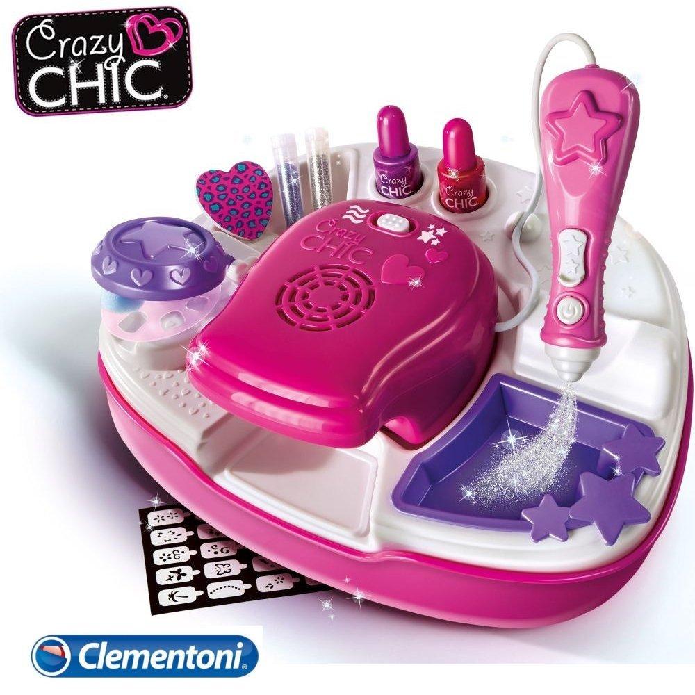 Clementoni Crazy Chic Zestaw Studio Paznokci Nowe 1800232534