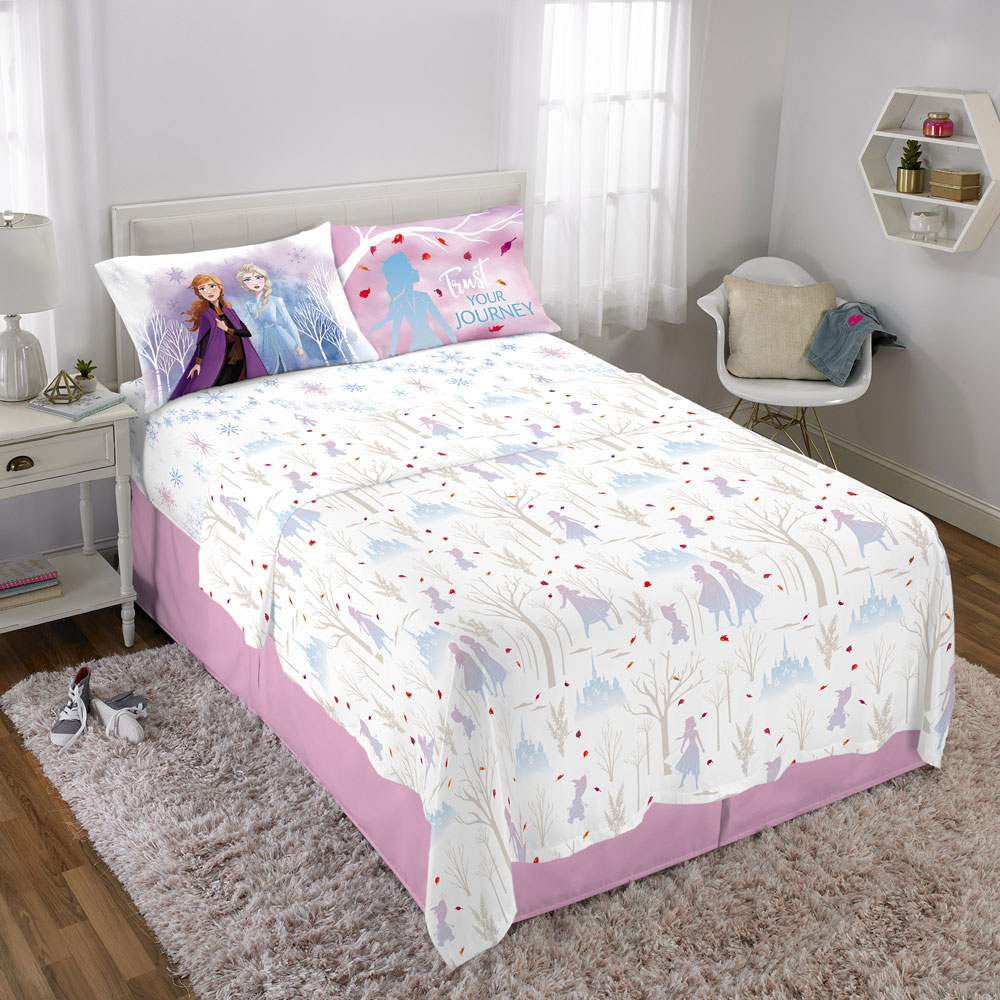 buy disney frozen ii spirit of nature full sheet set for cad 59 99 toys r us canada