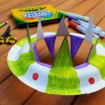 Flying Saucer Diy Activity For Kids Toys R Us