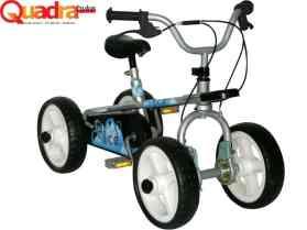 Quadra Byke (three bikes in one) Silver