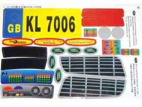 Kalee Land Rover Discovery-4 - Sticker Kit