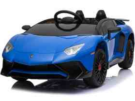 Mini Moto Lamborghini 12v Blue (2.4ghz RC)_2