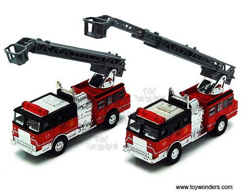 Long Toy Fire Ladder Truck