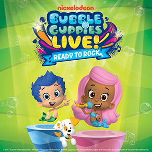 Bubble Guppies singing with dog