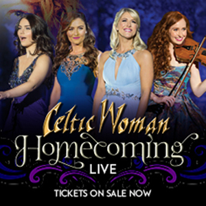 four Celtic Woman posing