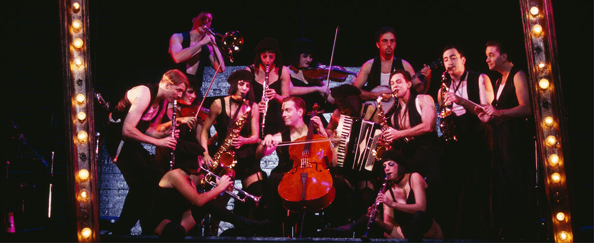seedy Kit Kat Klub musicians