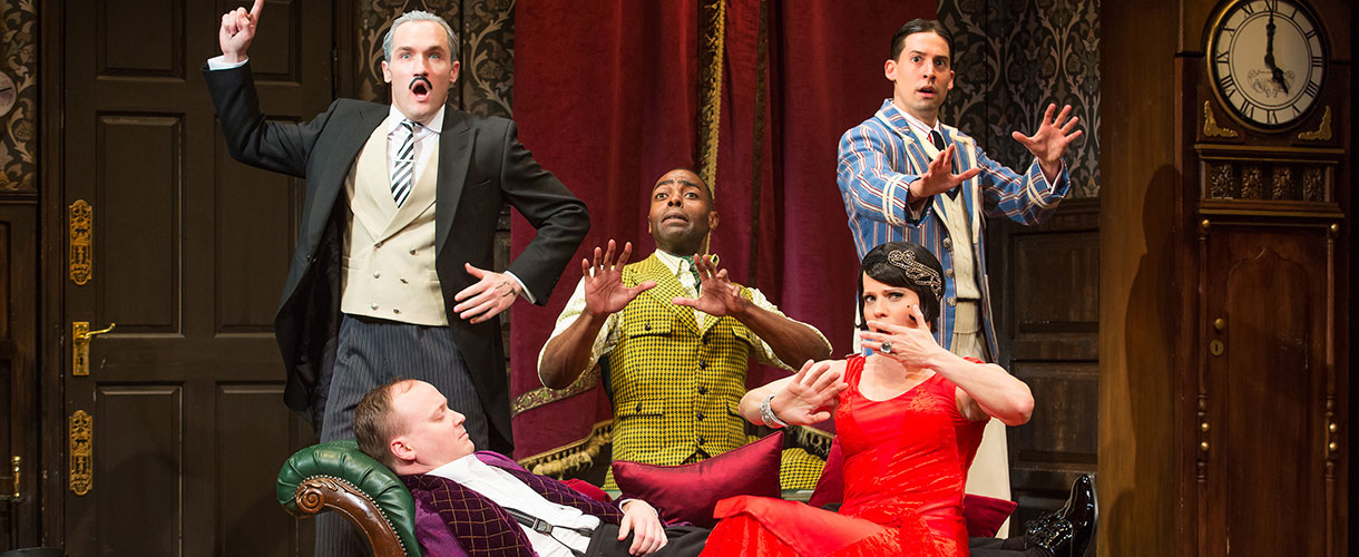 The Company of The Play That Goes Wrong