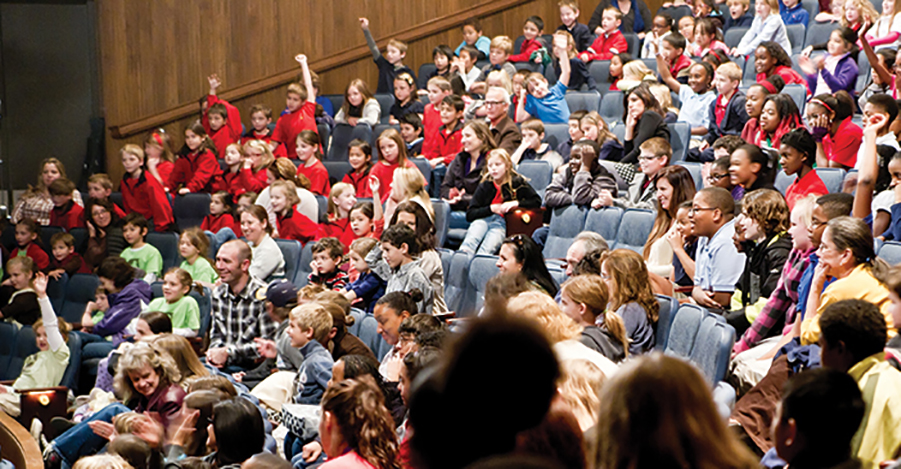 Student Audience HOT Mimosa Arts 901x469