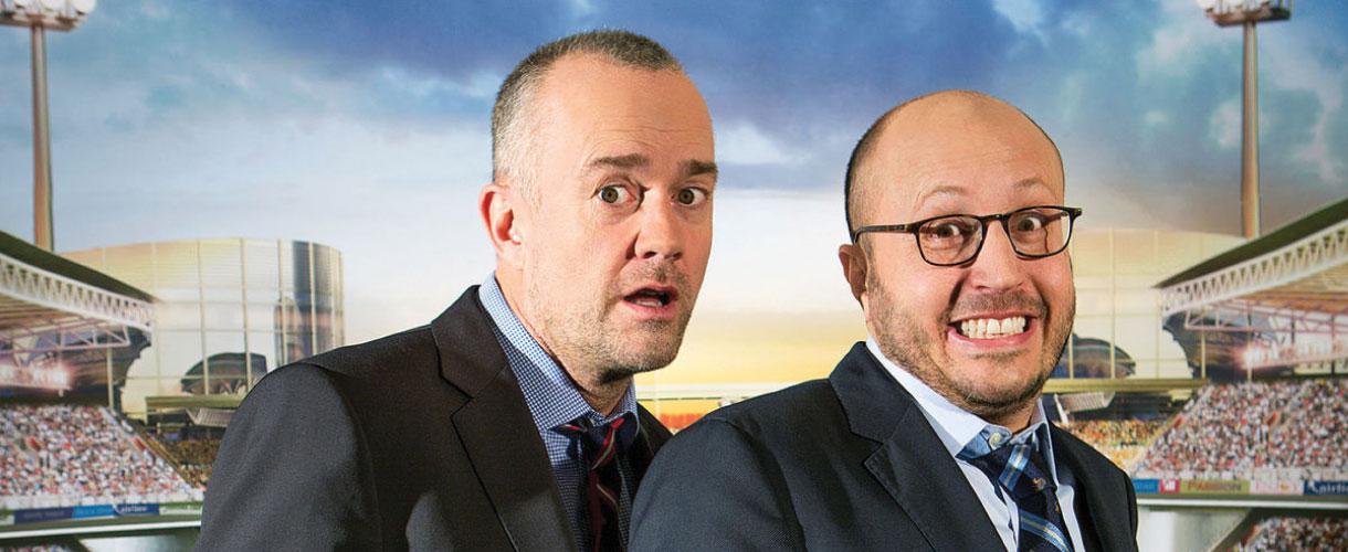 Men in Blazers Hosts Roger Bennett and Michael Davies