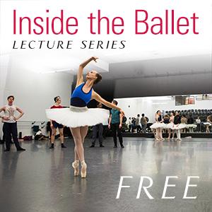 Inside the Ballet dancer in pose