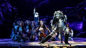 Dan Hoy as 'Munkustrap' and the North American Tour of CATS.