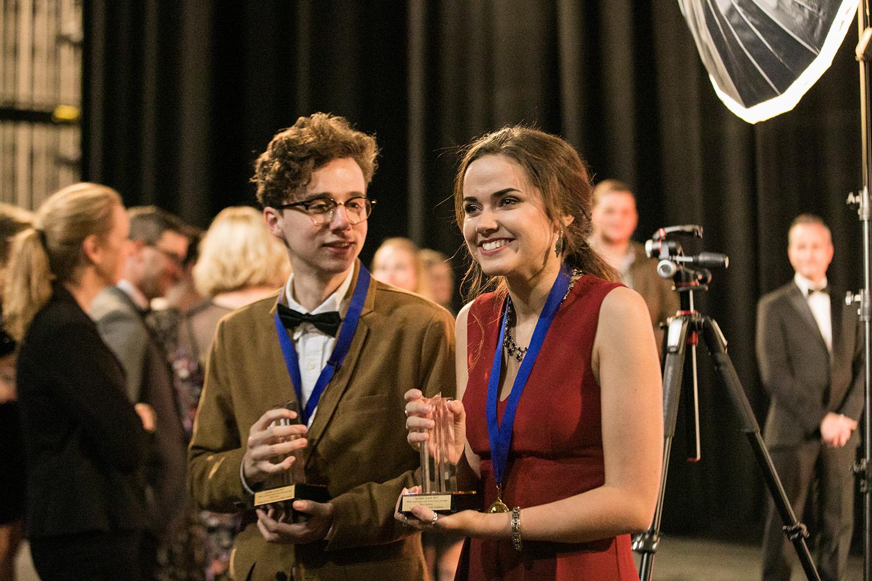 High school award winners