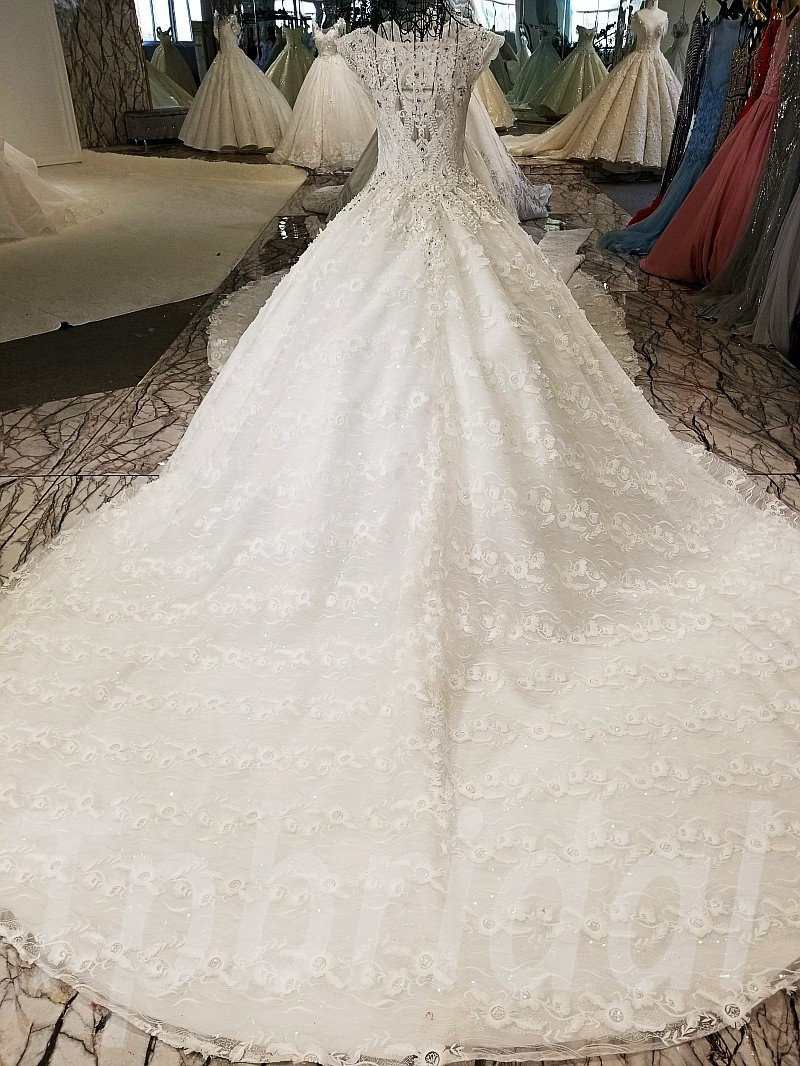 Wedding Dress Princess Ball Gown Under 1000 • tpbridal