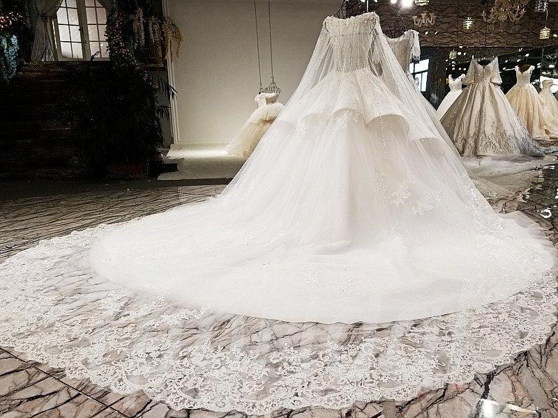 Long Train Wedding Dress Sale Online 2018 Spring • tpbridal