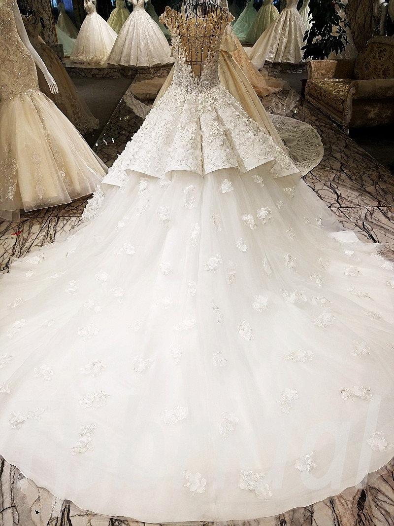 Wedding Dress Diamond Ball Gown Gorgeous Bridal Dress