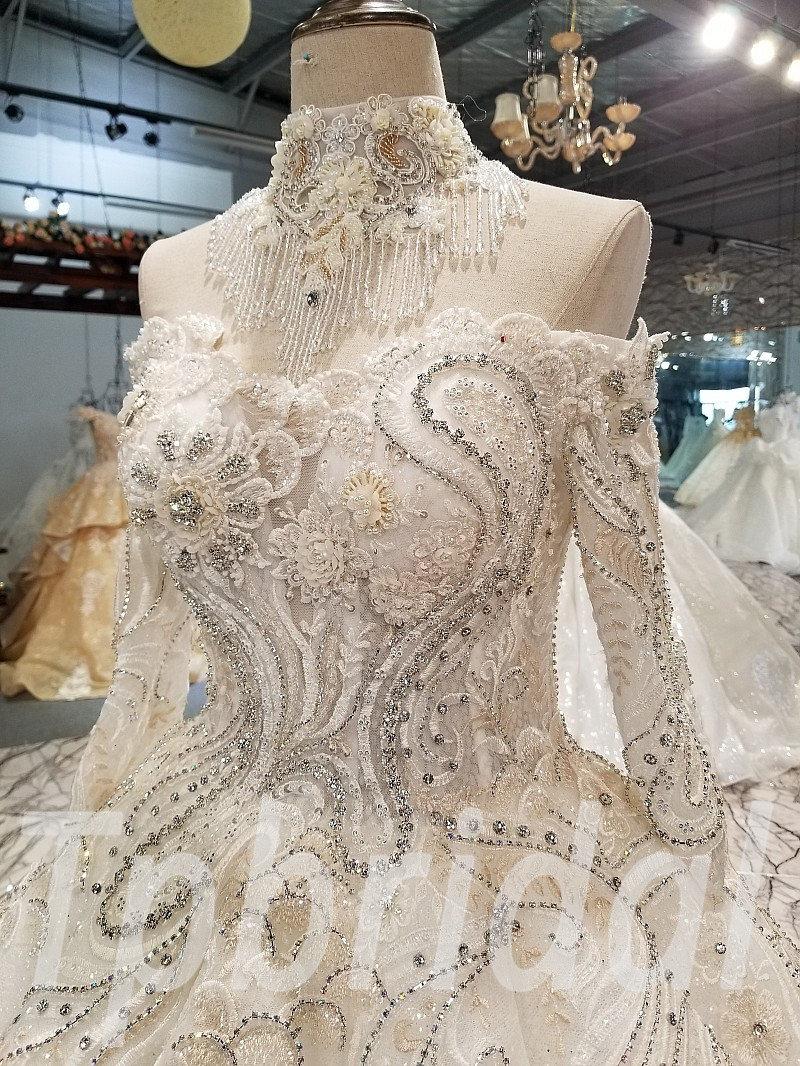 Wedding Dress Custom Made Strapless Ball Gown Wholesale