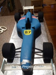 Formula 1 X Go Kart Cake: Custom Order Ask For a Quote Now
