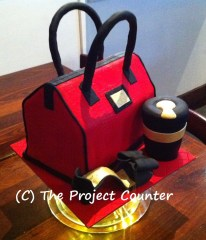 Handbag Cake: Custom Order Ask For a Quote Now