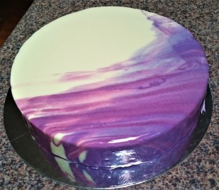 Mirror Glaze Sponge Cake: Custom Order Ask For a Quote Now