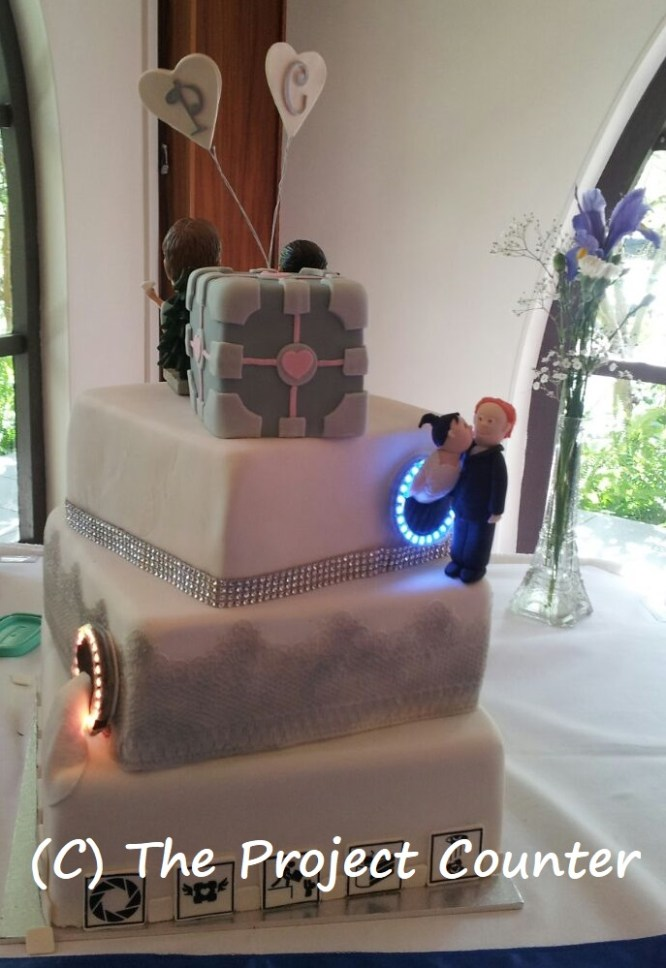 Portal Cake: Custom Order Ask For a Quote Now