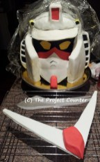 Gundam Cake: Custom Order Ask For a Quote Now