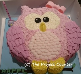 Owl Cake: Custom Order Ask For a Quote Now