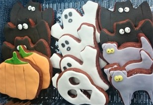 Halloween Gingerbread Cookies: Visit our Etsy Store for the latest seasonal products!