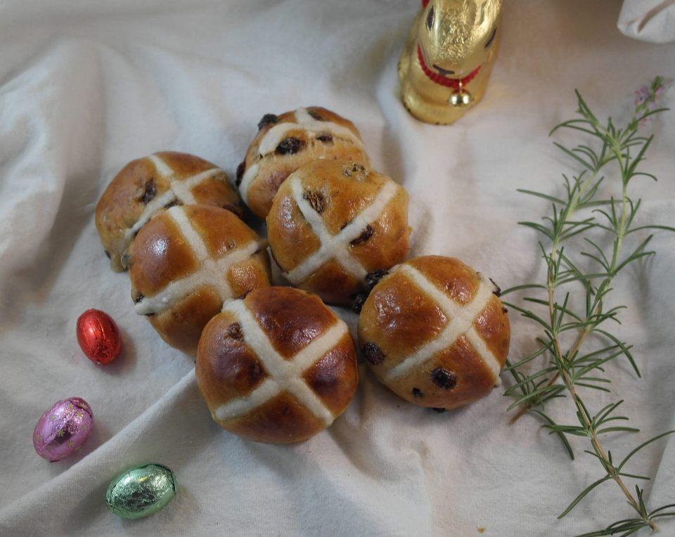 Easter Bunnies Alert: Handmade Hot Cross Buns Now Available