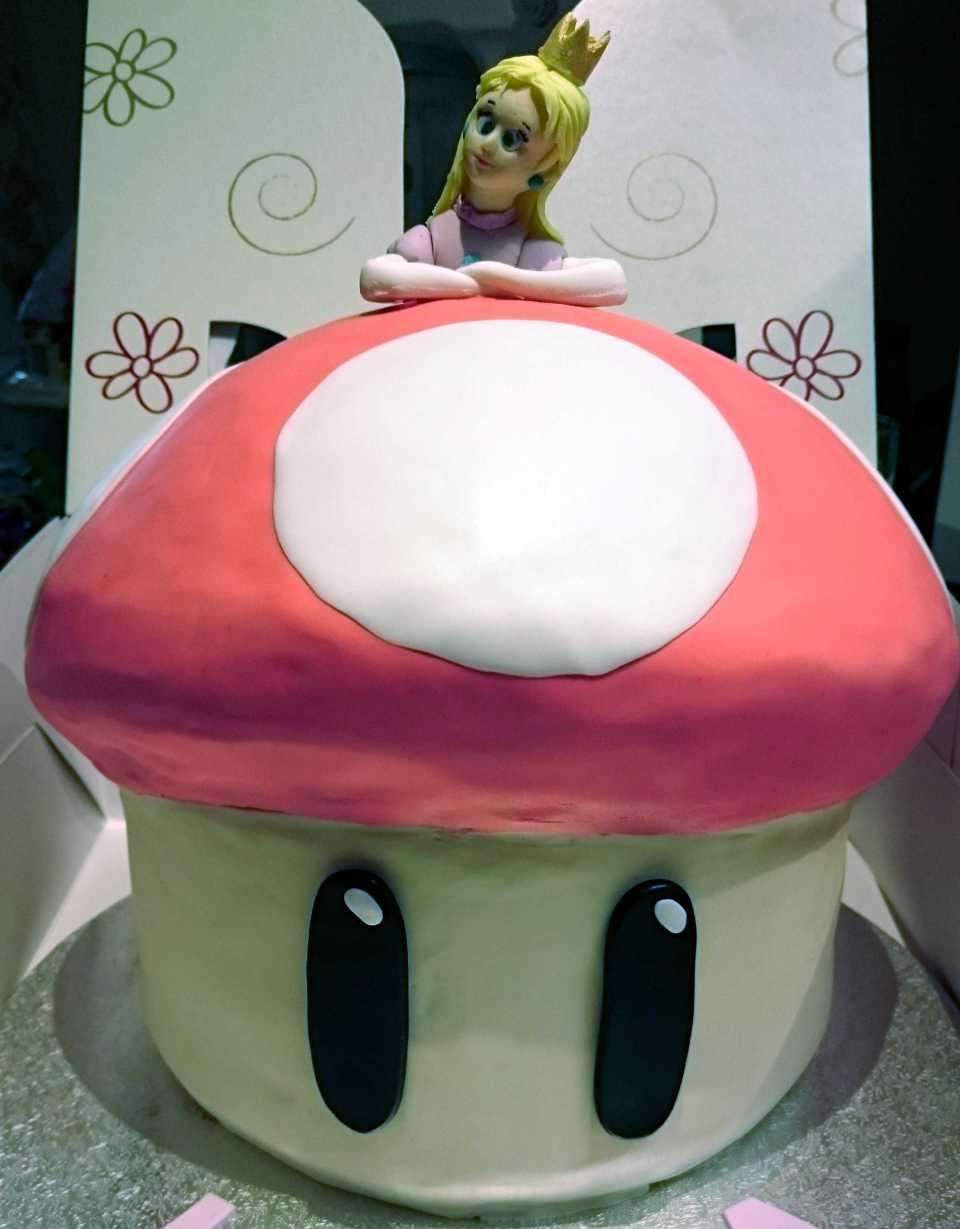 Princess Peach and Mushroom Date