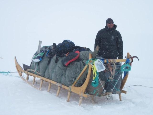 Salo's big sledge