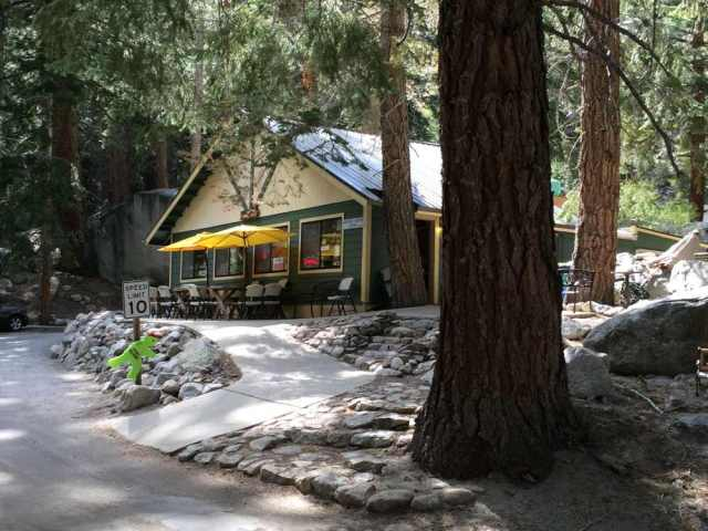 Whitney Portal Store Next to Trailhead